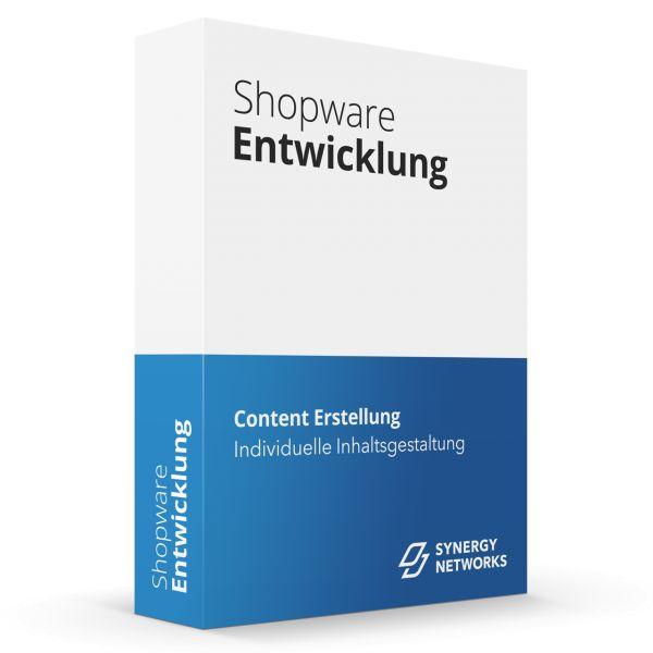Synergy Content Erstellung für Shopware