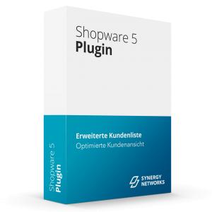Shopware Plugin Erweiterte Kundenliste