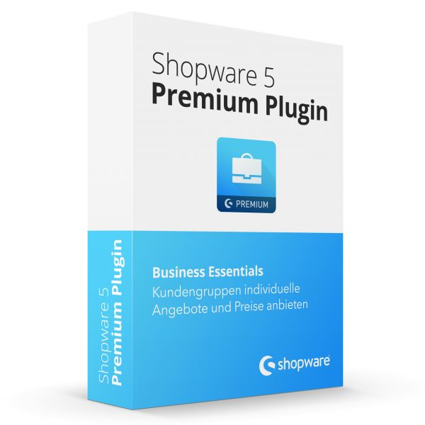 Business Essentials Shopware Premium Plugin