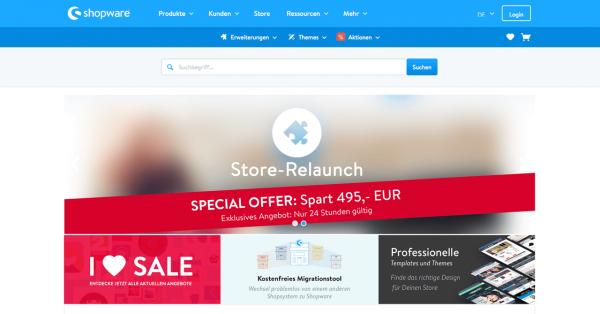 Screenshot-Shopware-Store-Relaunch