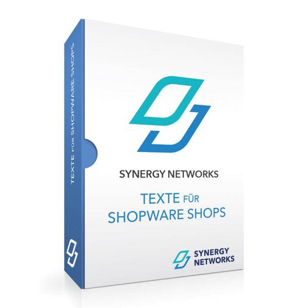 Texte für Shopware Onlineshops