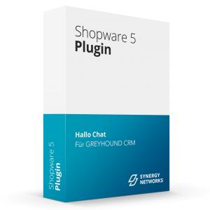 Shopware Plugin Hallo Chat für Greyhound CRM