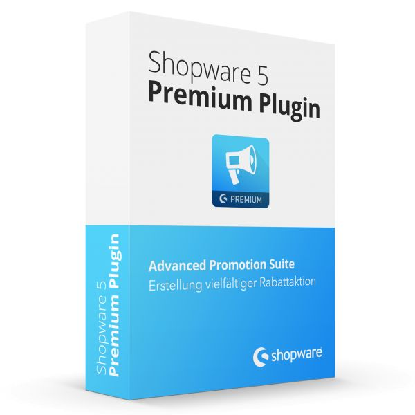 Advanced Promotion Suite Shopware Premium Plugin