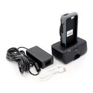 Set: 3 x Pickware Mobile Barcodescanner, 3 x Schutzhülle, 1 x Ladestation 5-fach / 1 x 3 Ladestation
